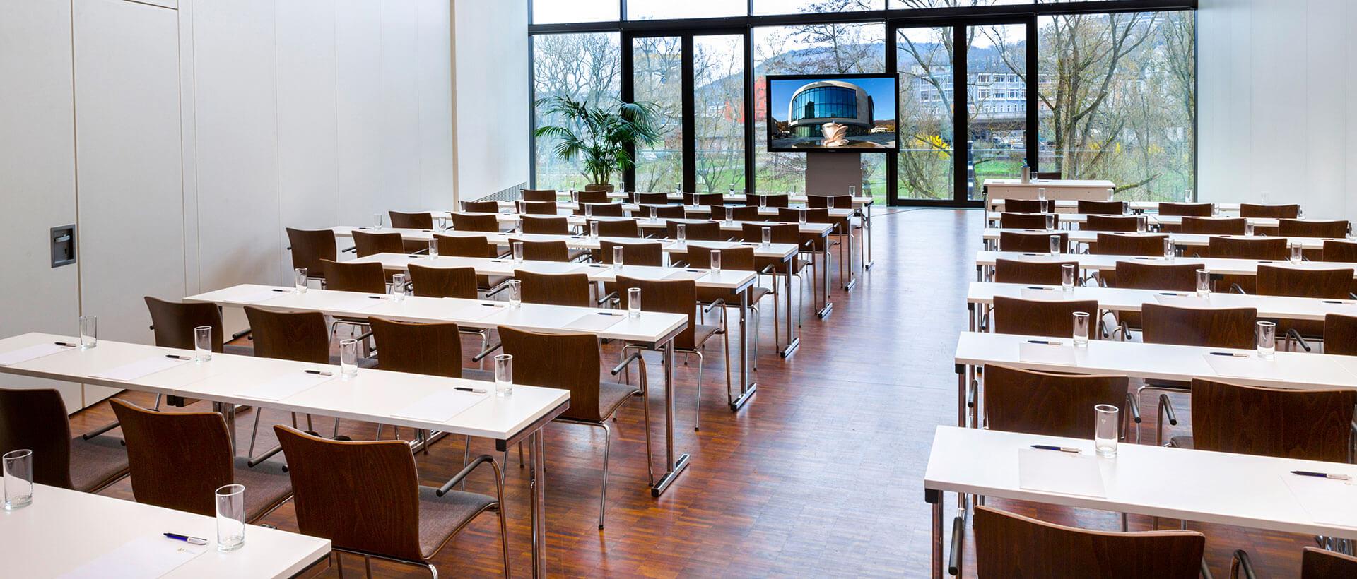 Tagungsraum Vila Flores im Congresszentrum Marburg